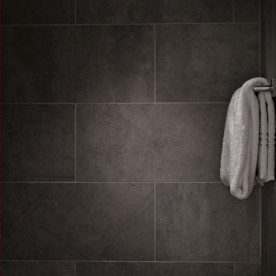 What are the benefits of large format tiles?