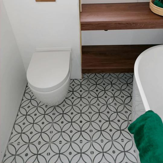 What's the best type of toilet for a small bathroom?