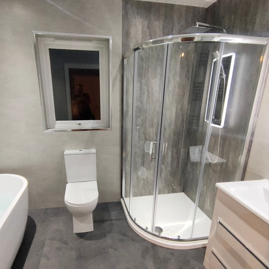 Walk In Shower Or Wet Room