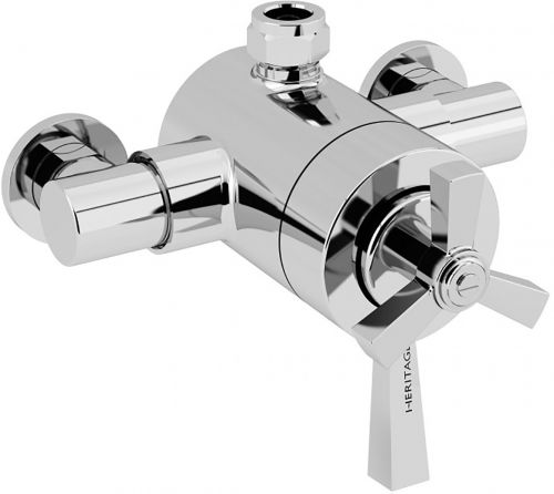 Heritage Gracechurch Exposed Shower Valve with Bottom Outlet Connection (12669)