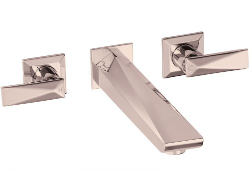 Heritage Hemsby Limited Edition Rose Gold Wall Mounted Bath Filler - 12677