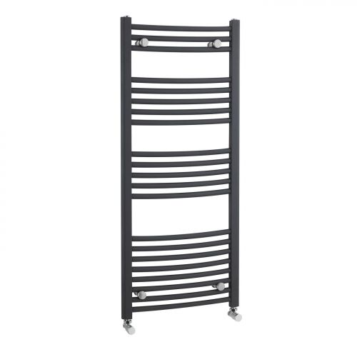 Biava Dry Element Towel Rail 1100 x 600mm - Anthracite - 12725
