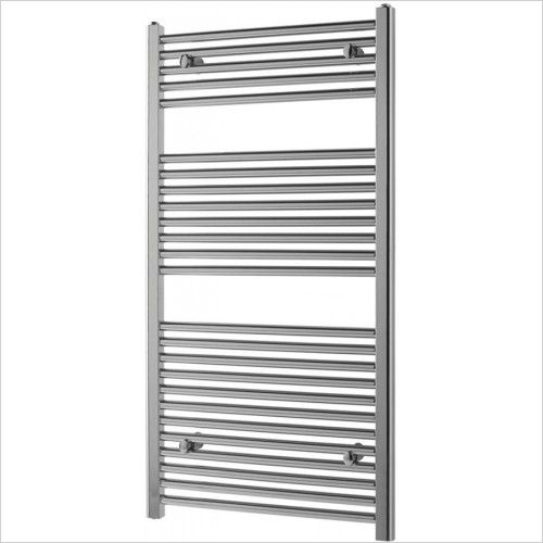 Wendover Straight Multirail 1200 x 600 - Chrome - 12726