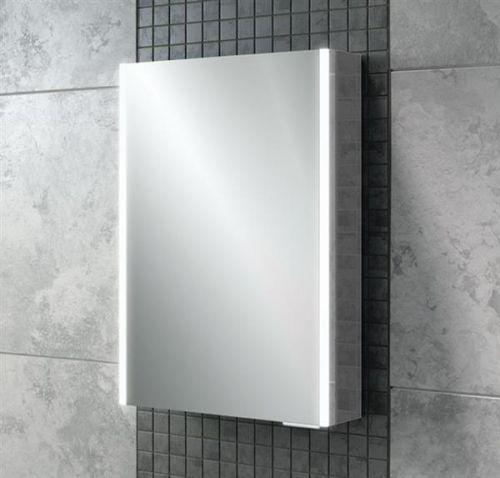 Caldini 350 x 450 x 130mm LED 1 Door Mirrored Cabinet (12884)