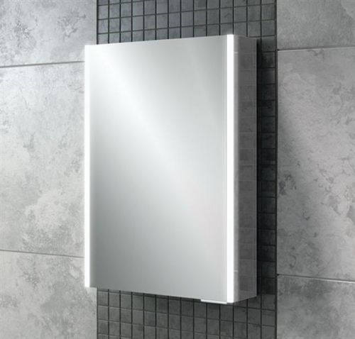 Caldini 500 x 700 x 130mm LED 1 Door Mirrored Cabinet (12886)