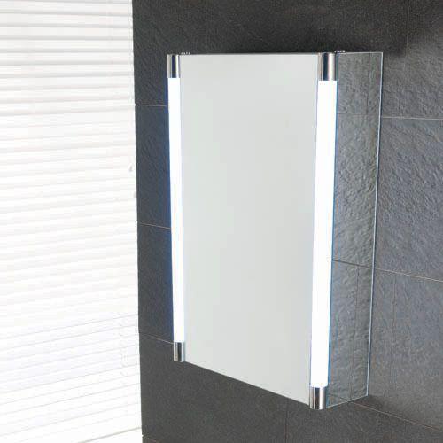 Zurich 500 x 700 x 140mm Mirrored Cabinet (12887)