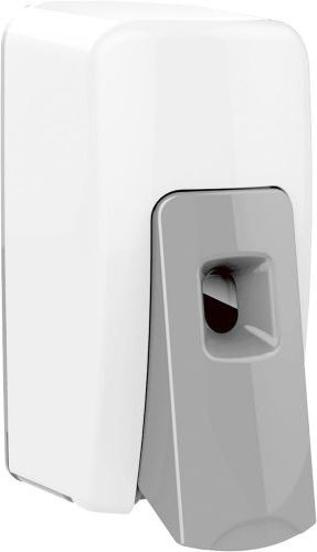 Sapphire Manual Soap Dispenser - White & Chrome - 12971