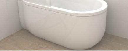 Advantage Deep Bath Panel - Left Hand (13602)