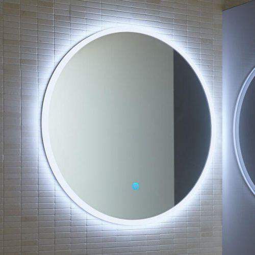 Lunar 800mm LED Round Mirror (19569)