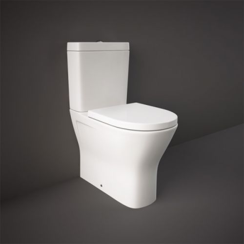 Marbella Rimless Fully Back To Wall Toilet & Soft Close Seat  (13676)
