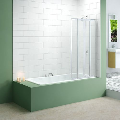Merlyn Four Fold Bath Screen (13685)