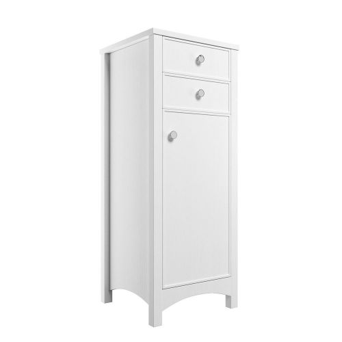 Moods Bathrooms to Love Lucia Tall Boy Unit - Satin White (13715)