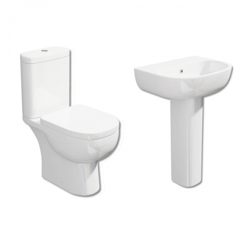 Tilly Modern Toilet & Basin Suite (13824)