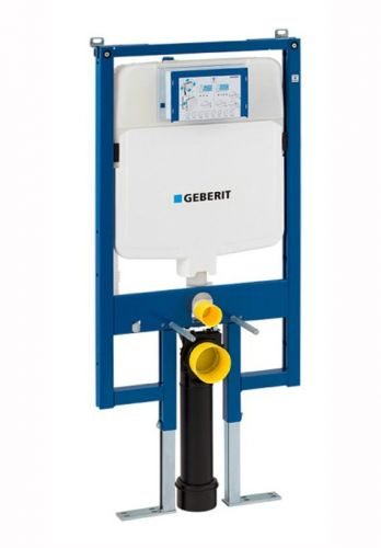 Geberit Duofix 1120mm High WC Frame with UP720 Sigma Cistern 8cm 111.799.00.1 (13829)