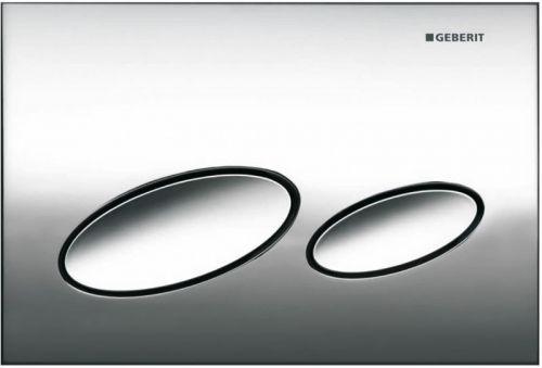 Geberit Kappa20 Dual Flush Plate - Gloss Chrome 115.228.21.1 (13830)
