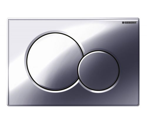 Geberit Sigma01 Dual Flush Plate - Gloss Chrome 115.770.21.5 (13834)