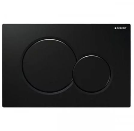 Geberit Sigma01 Dual Flush Plate - Jet Black 115.770.DW.5 (13835)