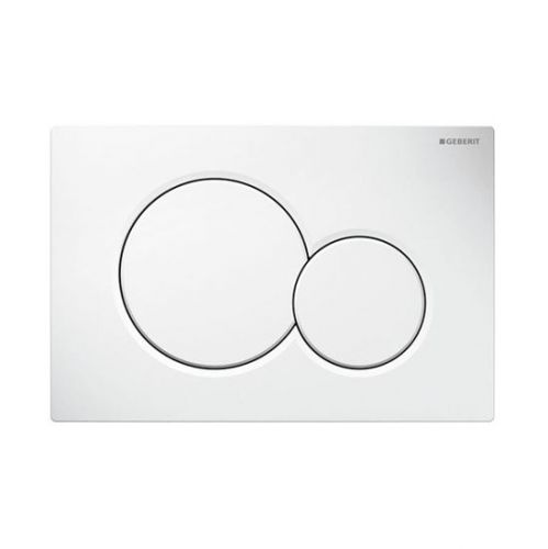 Geberit Sigma01 Dual Flush Plate - White Alpine 115.770.11.5 (13836)
