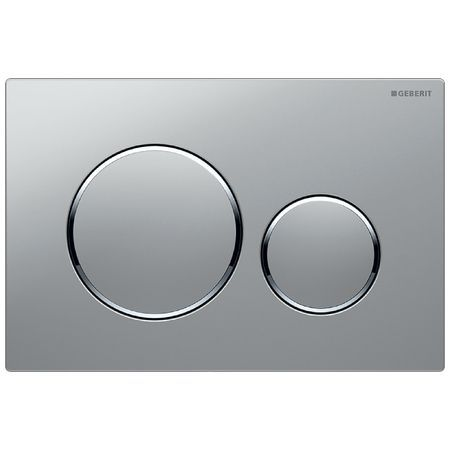 Geberit Sigma20 Dual Flush Plate - Matt Chrome 115.882.KH.1 (13837)