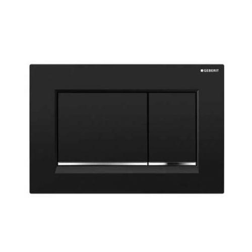 Geberit Sigma30 Dual Flush Plate - Black Chrome 115.883.KM.1 (13839)