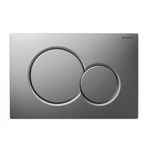 Geberit Sigma01 Dual Flush Plate - Matt Chrome 115.770.46.5 (13848)