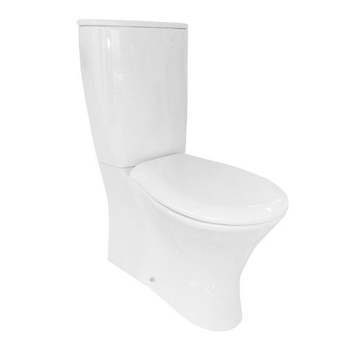 Olympia Formosa Close Coupled Fully Back to Wall Toilet & Soft Close Seat  (14008)