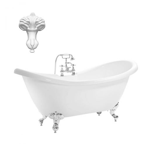Balmoral 1750mm Double Ended Slipper Bath
