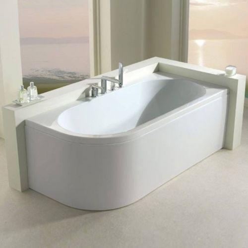 Status 1700 x 725mm Corner Bath  - Left Hand (10997)