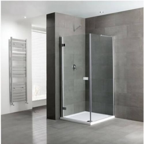 Hinged Shower Door with Side Panel