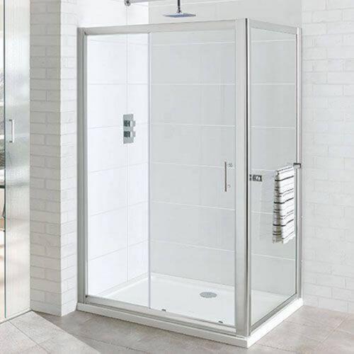 Vantage 1000mm Sliding Shower Door (19851)
