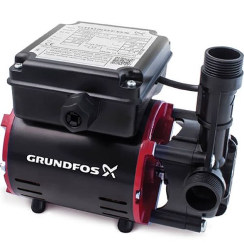 Grundfos SSR2 Universal 2 Bar Shower Booster Negative Head Single Pump SSR2-2.0 CN - 12824