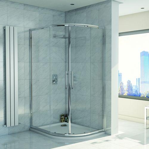 Kiimat Eight² 900 x 760mm Offset Quadrant Shower Enclosure (19290)