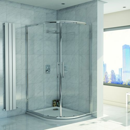 Kiimat Eight² 1000 x 800mm Offset Quadrant Shower Enclosure (19291)