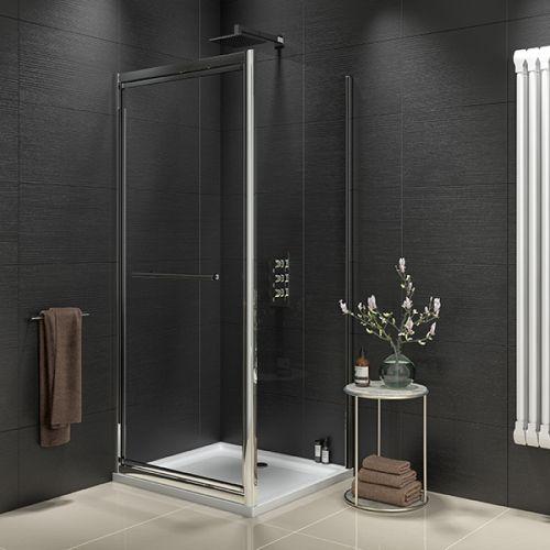 Kiimat Eight² 800mm Infold Shower Door (19312)