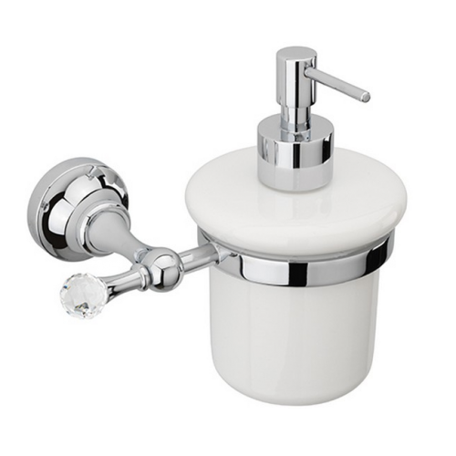 Sagittarius Swarovski Liberty Crystal Soap Dispenser - Chrome - 17527