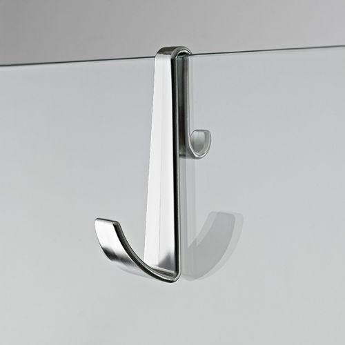 Hudson Reed Enclosure Hook For Frameless Enclosures - Chrome (ACC003) - 17154