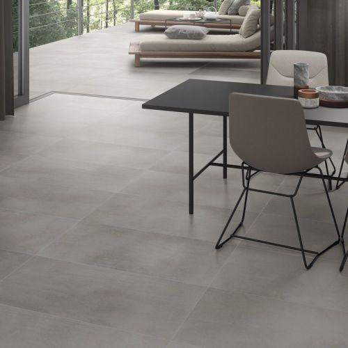 Piemonte Grey 90 x 90cm Rectified Porcelain Tile - 1.62sqm perbox (19640)