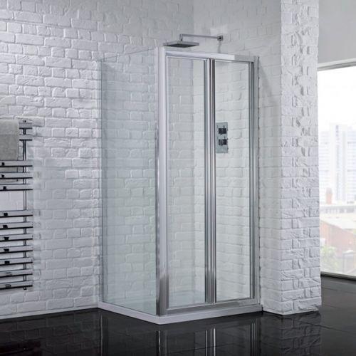 Aquadart Venturi 6 900mm Framed Bi-Fold Shower Door (18946)