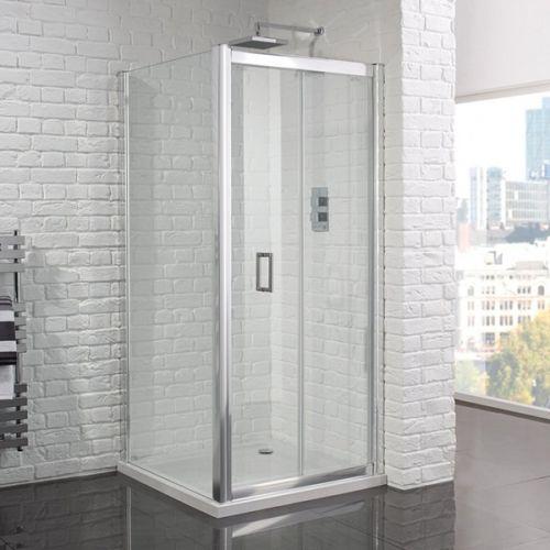 Aquadart Venturi 6 1000mm Frameless Bi-Fold Shower Door (18951)