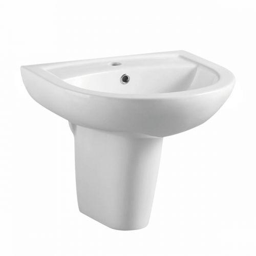 Basin and Semi Pedestal
