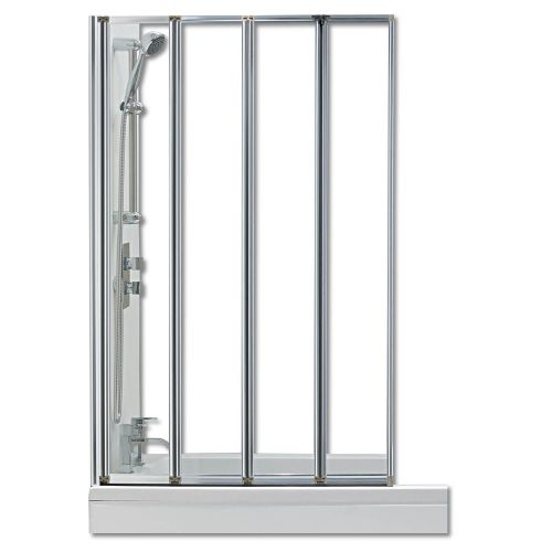 Hydro 4 Panel Folding Bath Screen (12614)