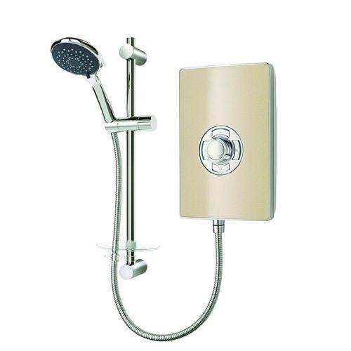 Triton Aspirante 8.5kW Electric Shower - Riveria Sand (19350)