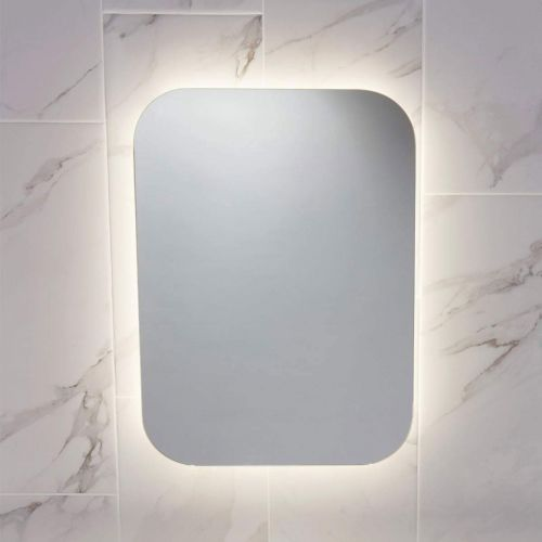 Aura 500 x 700mm LED Mirror with Demister Pad (14333)