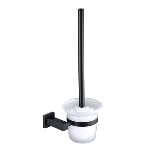ER Noir Toilet Brush & Holder  -  Black  (14914)
