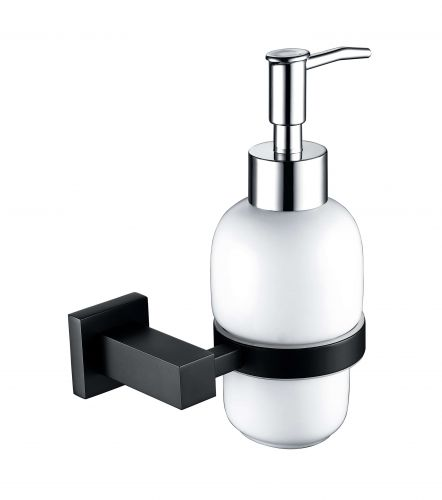 ER Noir Soap Dispenser & Holder - Black (14909)