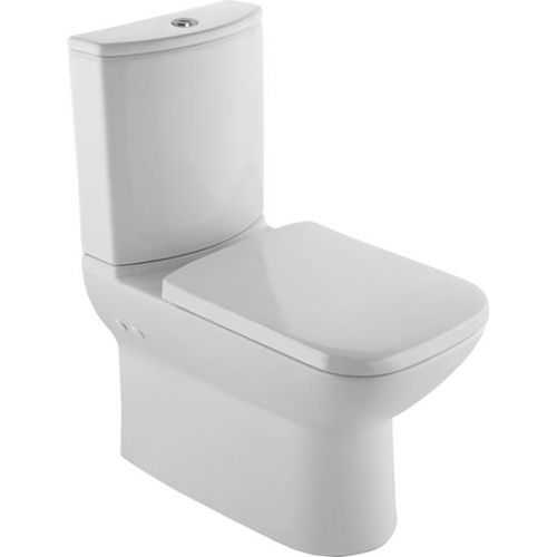Kalevit Babel Designer Fully Back to Wall Toilet Pan, Cistern & Soft Close Seat (19484)
