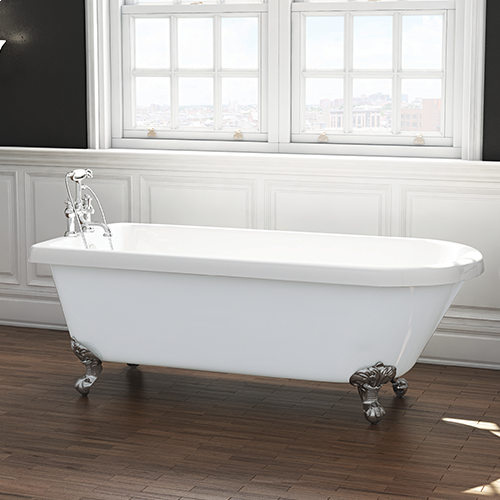Traditional English Balmoral 1770mm Single Ended Roll Top Bath (8083)