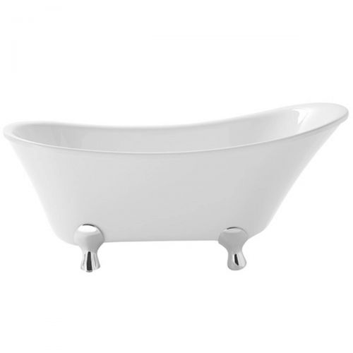 Heritage Grantham 1550mm Single Ended Slipper Bath & Feet (8241)
