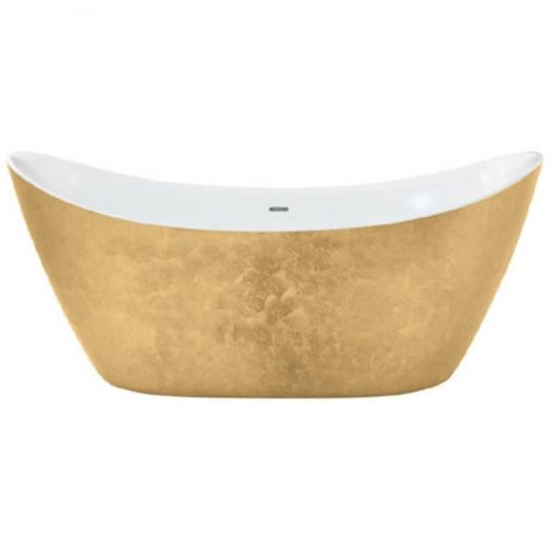 Heritage Hylton Acrylic Double Ended Slipper Bath - Gold Effect  (7552)