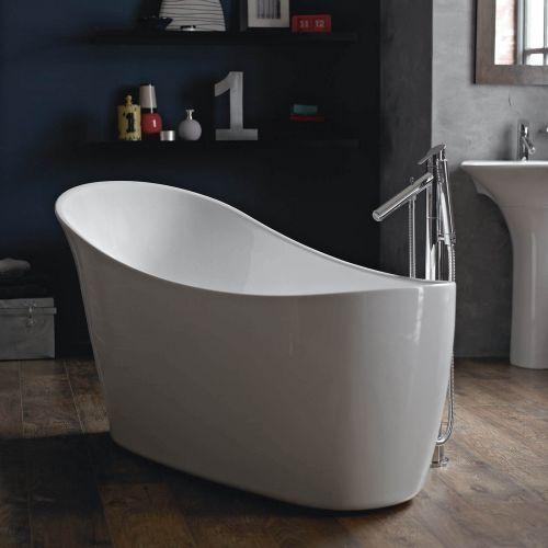 Heritage Polperro 1590mm Single Ended Slipper Bath  (7560)
